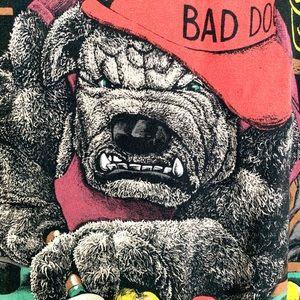 Shirts - 🔥Rare VTG Bad Dog ALL OVER print shirt Men's XL